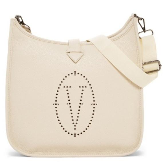 391a287a16 Vertigo Crossbody Shoulder Bag Taupe w  Pockets